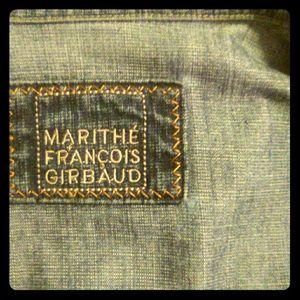 Marithe Francois Girbaud Jackets & Coats - MARITHE FRANCOIS GIRBAUD French Denim Jacket M/W L